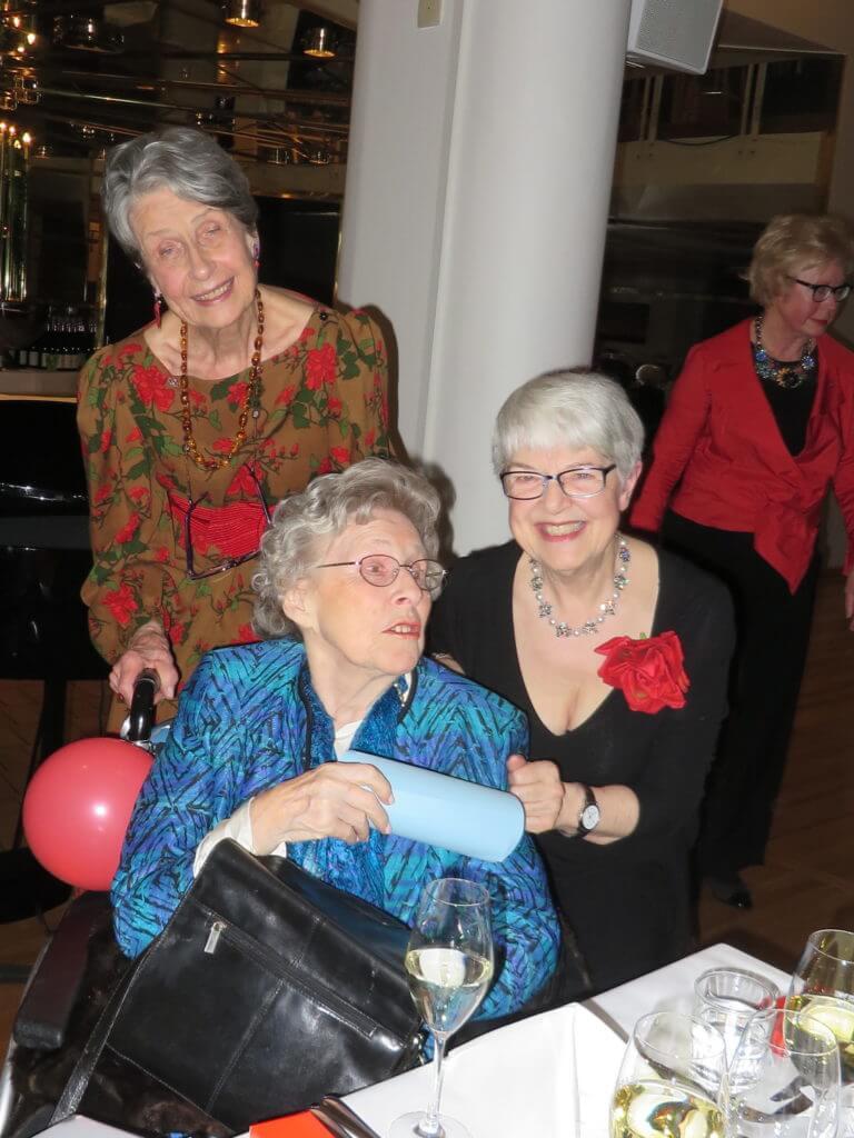 Grethe F. Patricia and Elizabeth Bøhn